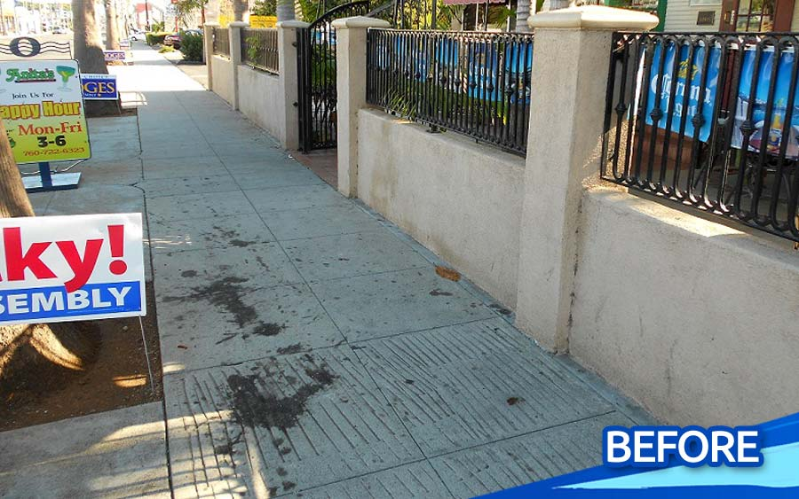 Commercial-Sidewalk-Stain-Removal-Concrete-Pressure-Washing-North-County-San-Diego-CA-01