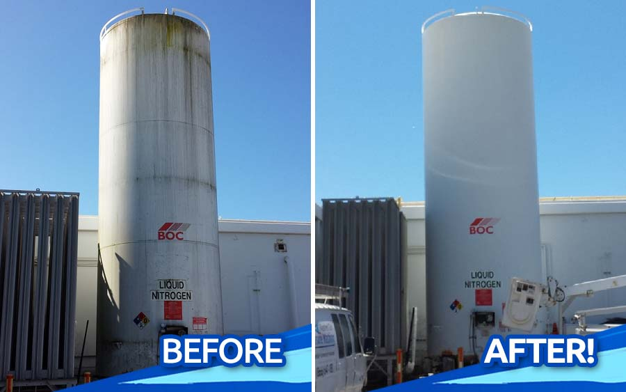 Commercial-Storage-Tank-Pressure-Washing-North-County-San-Diego-CA