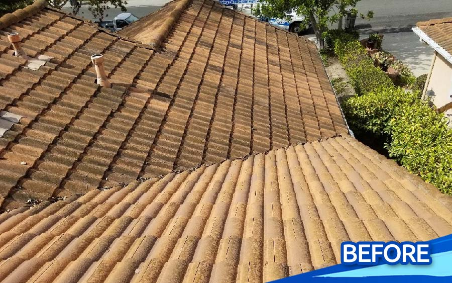 Low-Pressure-Steam-Cleaning-Tile-Roof-Stain-Cleaning-North-County-San-Diego-CA-gallery-07